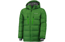 Columbia M Alaskan II Down Hooded Jkt dark backcountry/green